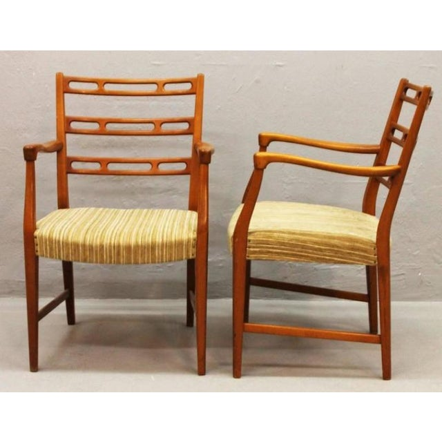 Mid-Century Futura Cherry Wood Armchair by David Rosén for Nordiska Kompaniet For Sale - Image 6 of 6