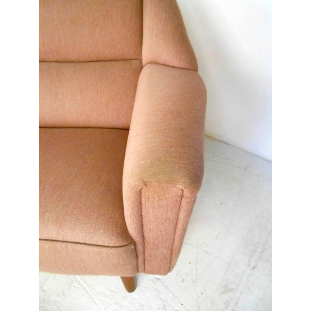 Mid-Century Modern Sofa in the Style of Kai Kristiansen For Sale - Image 9 of 11