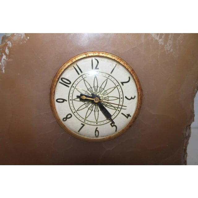 Lanshire Early 20th Century Monumental Quartz Electric Clock with Original Works For Sale - Image 4 of 6