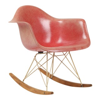 "Vintage Herman Miller Eames ""Rar"" Rocking Chair For Sale"