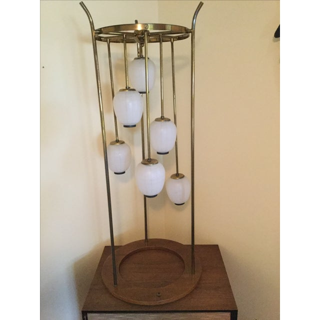 Mid-Century Modern Six Light Lamp - Image 2 of 9