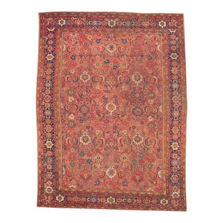 Persian Mahal Rug - 9′ × 12′ For Sale