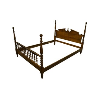 Ethan Allen Classic Manor Four Poster Queen Size Bed Preview