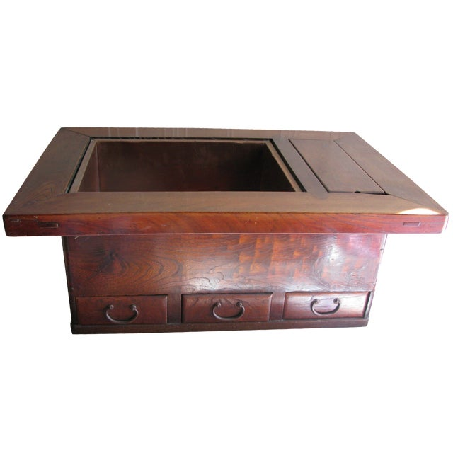 Antique Rosewood Hibachi Table For Sale