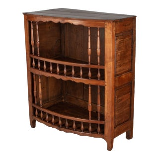 19th Century Country French Display Cabinet Sideboard For Sale