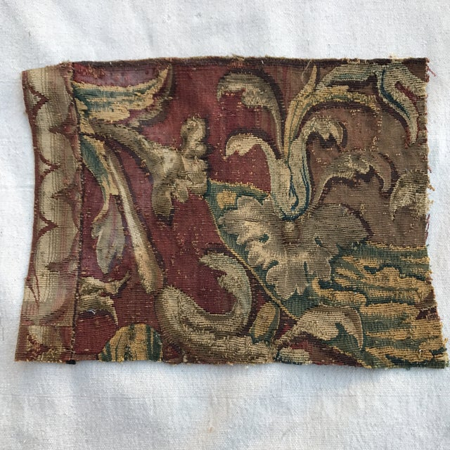17th Century Tapestry Fragment - Image 2 of 4