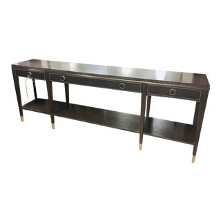 Traditional Clarendon Console Table For Sale
