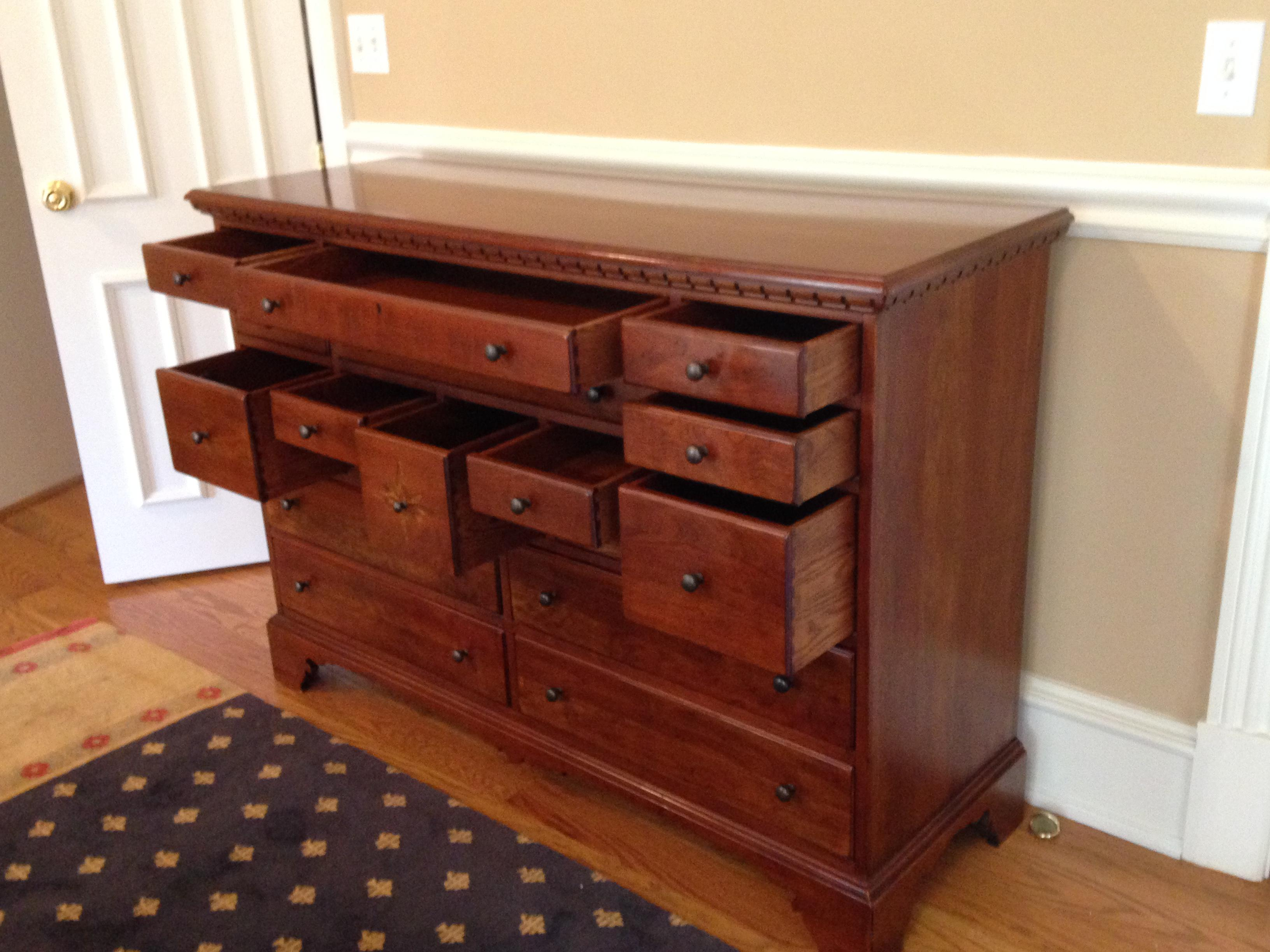Beau Lexington Furniture Bob Timberlake Old Salem By Lexington Collectors Chest  Dresser Made In Usa For Sale
