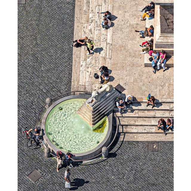 """Contemporary """"Obelisco Flaminio"""" Contemporary Limited Edition Fine Art Photograph Print by Bernhard Lang For Sale - Image 3 of 4"""