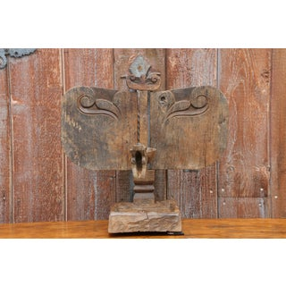 African Wooden Carved Altar Sculpture Preview