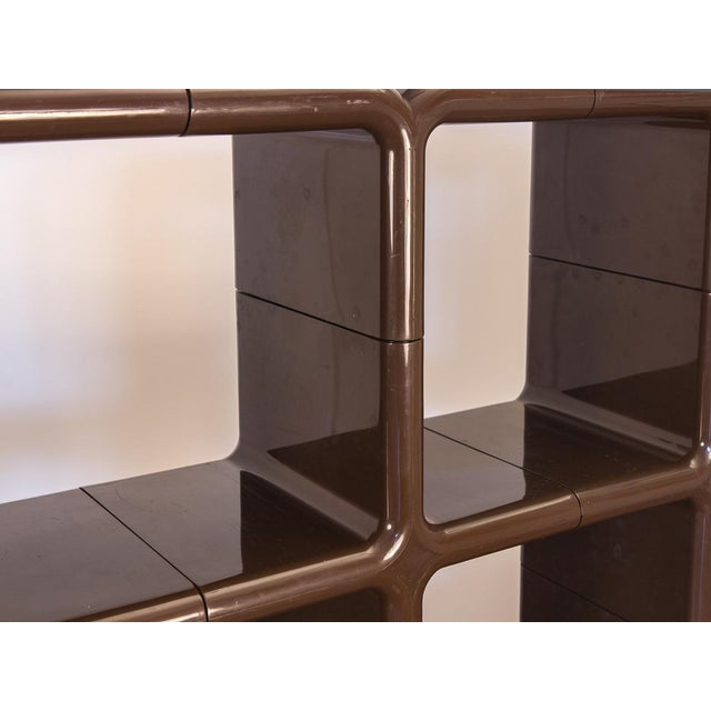 Kay Leroy Ruggles Brown Umbo Modular Shelf Unit for Directional For Sale In New York - Image 6 of 10