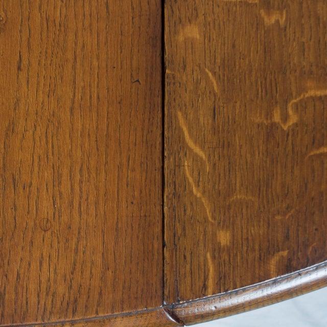 Oak 1920s Jacobean Turned Gate Leg Drop Leaf Side Table For Sale - Image 7 of 10