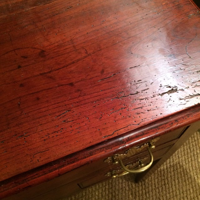 18th Century George III Lowboy Dressing Table For Sale - Image 4 of 5