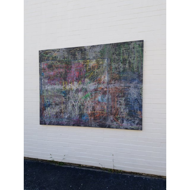 Contemporary Contemporary Abstract Painting by Kelly Caldwell For Sale - Image 3 of 4