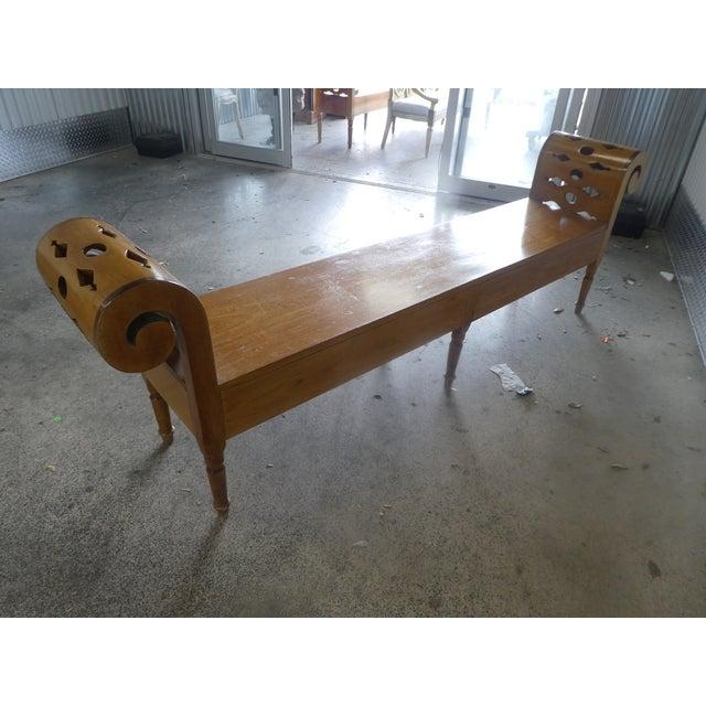Classic Parish Hadley Albert Hadley Albert's Bench For Sale - Image 10 of 12