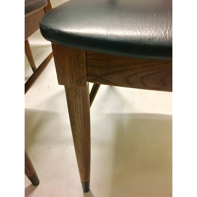 Mid 20th Century Mid Century Modern Danish Chairs - Set of 4 For Sale - Image 5 of 12
