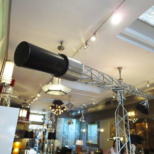 Curtis Jere Large Size Crane Standing Lamp, Signed, 1977 For Sale In Los Angeles - Image 6 of 8