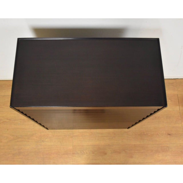 Black Edward Wormley for Dunbar Ebonized Dresser For Sale - Image 8 of 11