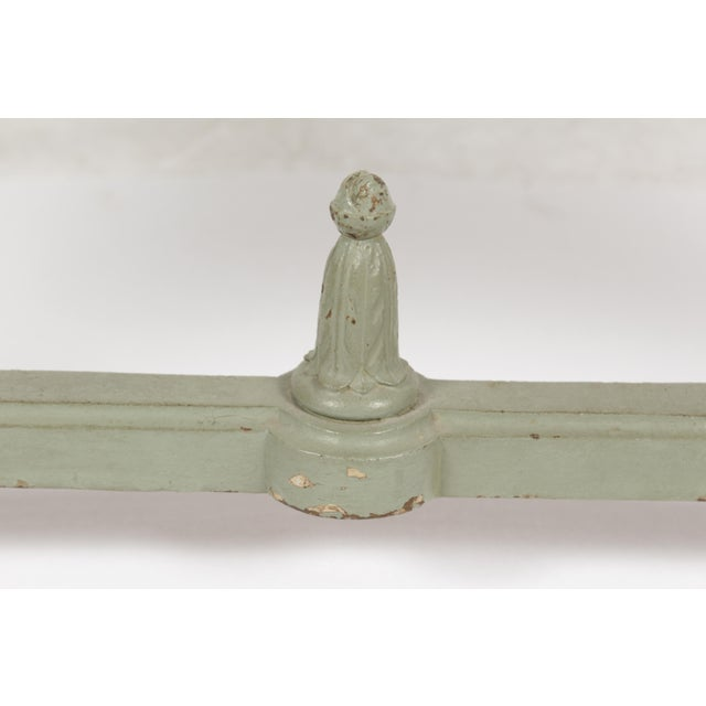 Antique Louis XVI Style Painted Bench - Image 7 of 10