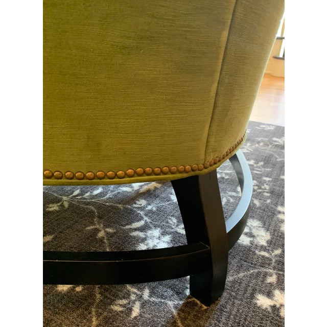 Century Furniture Artesia Wingback Chairs- A Pair For Sale - Image 9 of 13