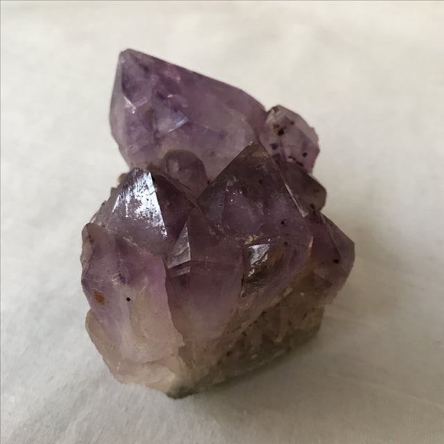 Decorative Amethyst Accent For Sale - Image 4 of 4