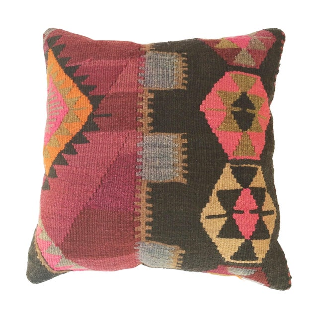 Turkish Kilim Pillow - Image 1 of 3