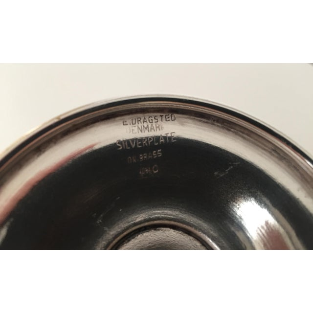 Danish Modern Silver Bowl-E.Dragsted - Image 6 of 7