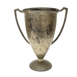 Silver Plated Loving Cup Trophy Vase