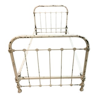 Antique French Iron Bed