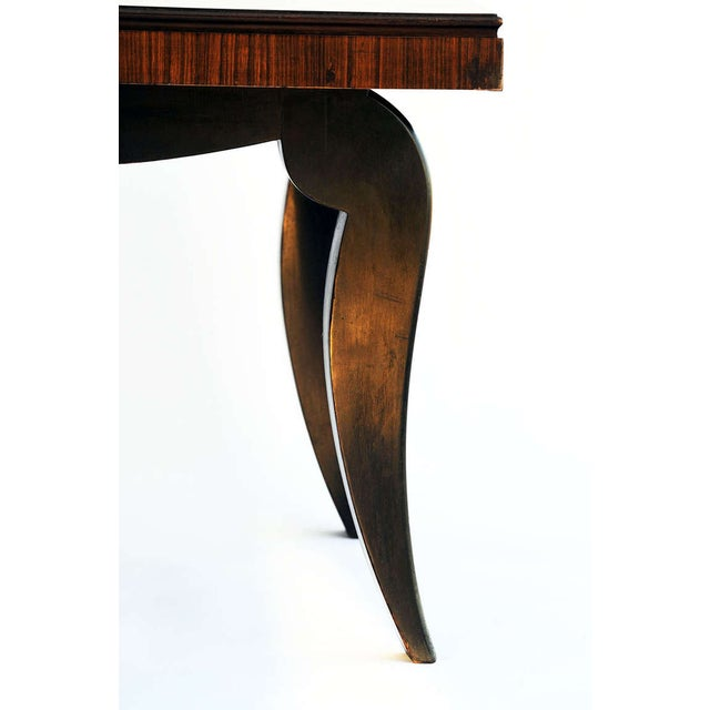 Art Deco Dining Table & 8 Chairs - Style of Leleu - Image 7 of 10