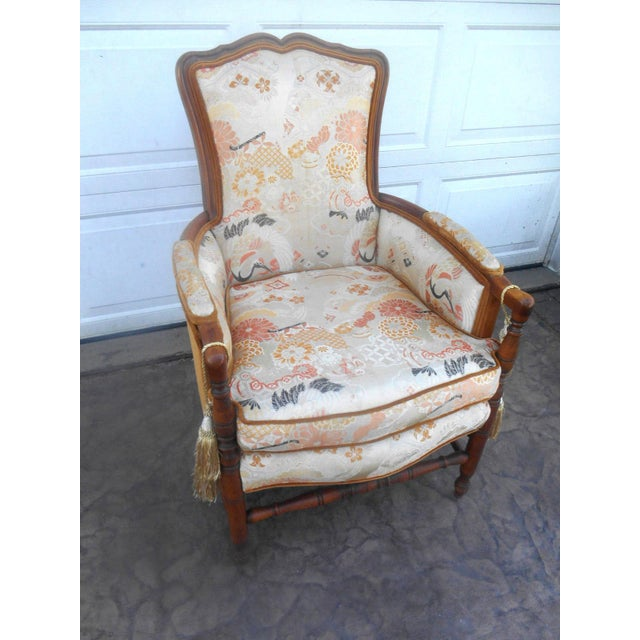 Vintage Heywood Wakefield Era Club / Fireside Arm Chair For Sale - Image 10 of 10