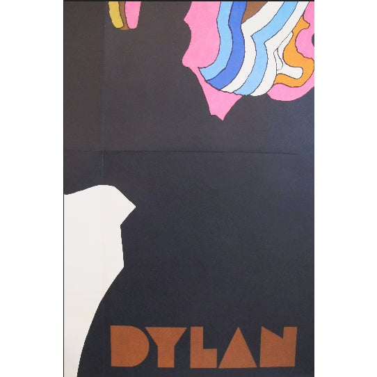 Americana Iconic 1960s Milton Glaser Poster, Bob Dylan For Sale - Image 3 of 4