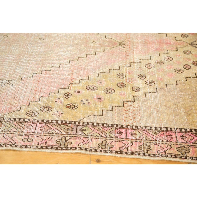 "Vintage Distressed Khotan Rug - 4'7"" x 8'9"" - Image 5 of 10"