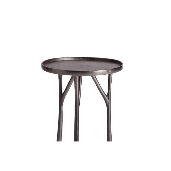 Made from forged metal, the Edison Side Table is a solid, yet streamlined piece. With a subtle lip around the top and...