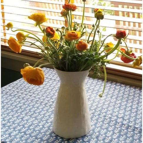 White Ceramic Vase For Sale In Seattle - Image 6 of 8