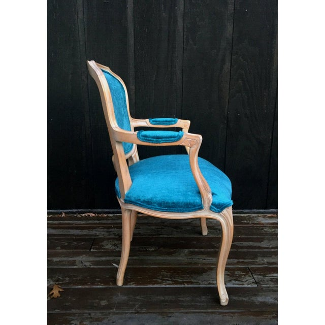 French Bergere Chairs - a Pair For Sale - Image 4 of 11