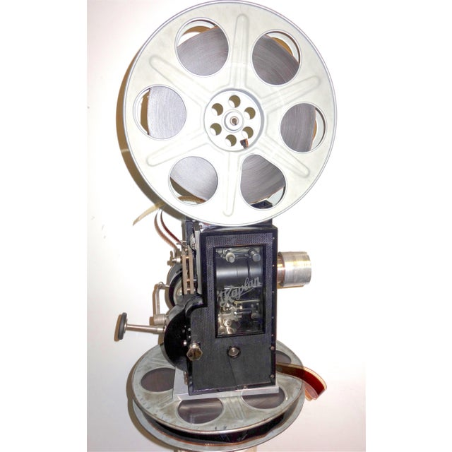 Kaplan 35mm Cinema Movie Projector Head, Circa 1930 Fully Restored and Gorgeous. For Sale - Image 9 of 12