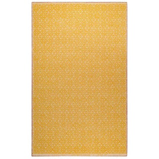Renaissance N.25 Yellow Cashmere Blanket, 51' X 71' For Sale