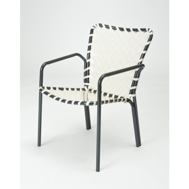 Set of Eight Patio Dining Chairs by Ames Aire For Sale - Image 4 of 9