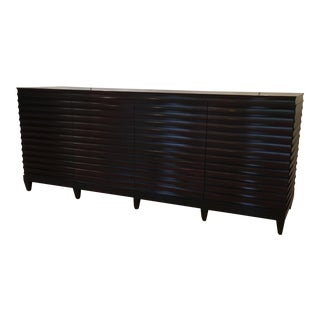 Mid-Century Modern Barbara Barry Fluted Credenza For Sale