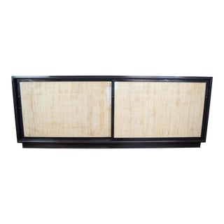 19th Century Contemporary Black Lacquer Sideboard For Sale