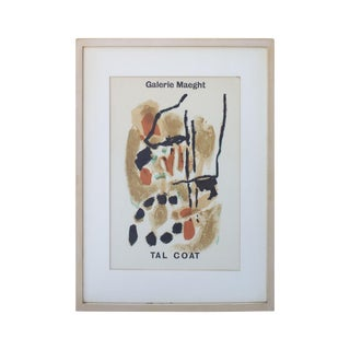 Pierre Tal Coat Framed Print From Galerie Maeght For Sale