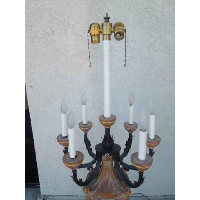 The Marbro Lamp Company 1950s Marbro Regency Candelabra Lamp For Sale - Image 4 of 8