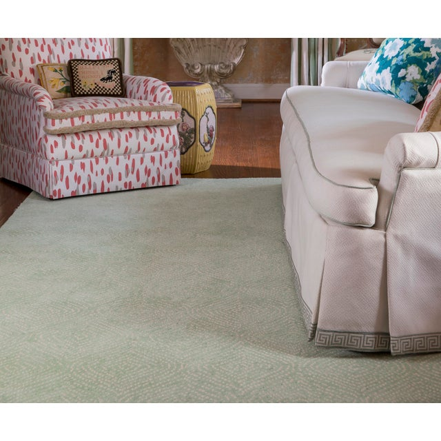 Madcap Cottage Roman Holiday via Del Corso Green Area Rug 5' X 8' For Sale - Image 4 of 6