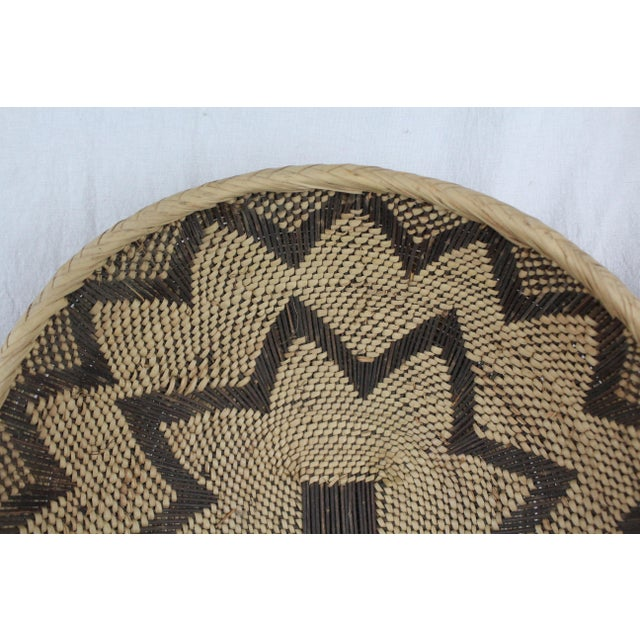 Textile Ghanian Basket For Sale - Image 7 of 9
