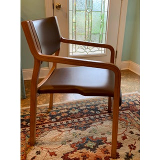 1960s Vintage Thonet Bentwood Stackable Arm Chairs - Set of 4 Preview