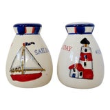 Image of Nautical Salt & Pepper Shakers, a Pair For Sale
