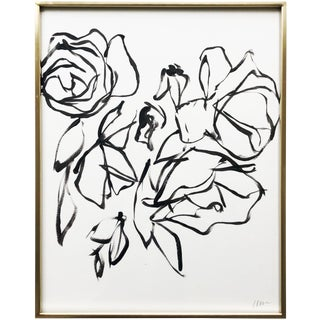 "Contemporary Painting, ""Roses 1"" by Lynne Millar For Sale"