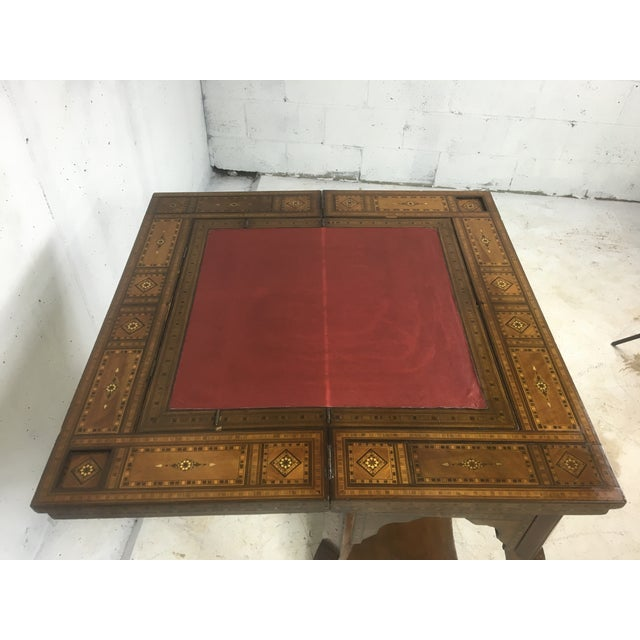 1930's Moroccan Game Table For Sale - Image 5 of 6