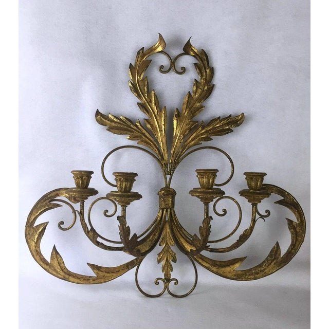 Hollywood Regency Candle Sconce. This gorgeous vintage sconce is ready to hang and light up your world. It is...